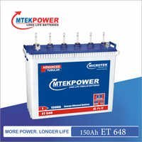 Inverter Battery ET 648