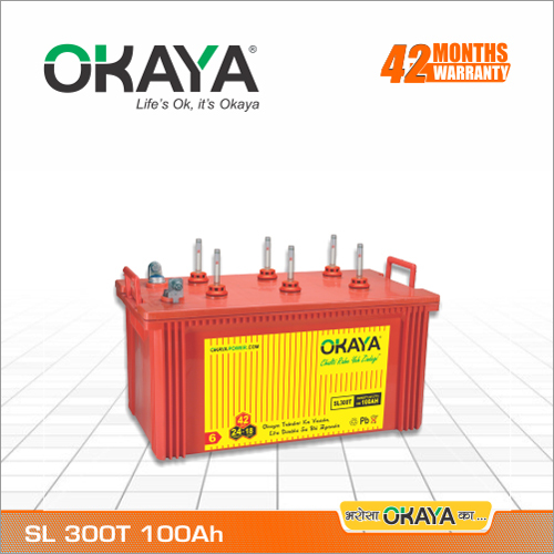 Inverter Battery SL 300T (100 AH)