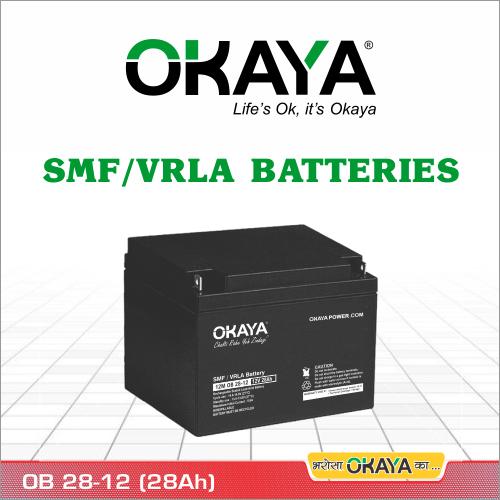 SMF Battery OB 28-12 (28 AH)