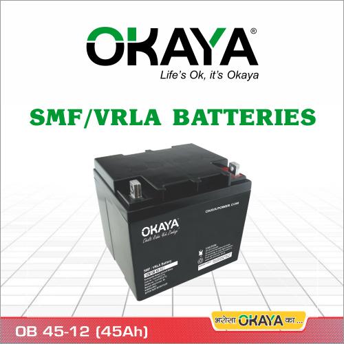 SMF Battery OB 45-12 (45 AH)