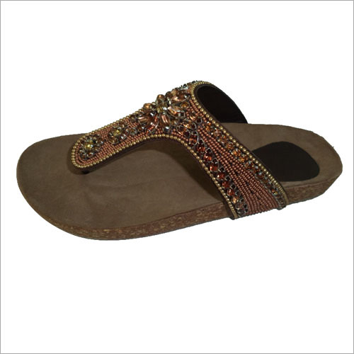 Ladies Embroided Sandals