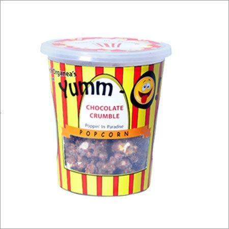 Chocolate Crumble Popcorns
