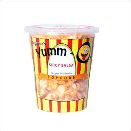 Spicy Salsa Popcorns