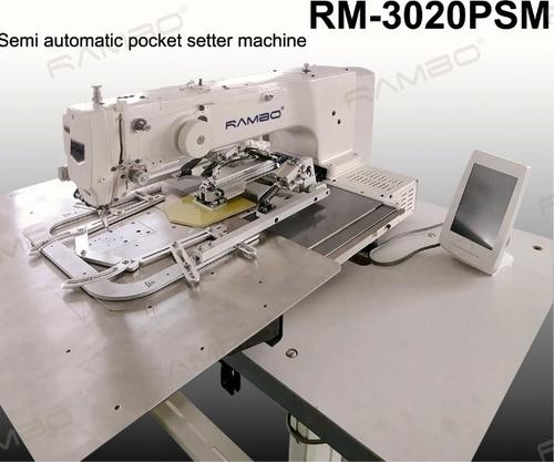 Semi Automatic Pocket Setter Machine (RM-3020PSM)
