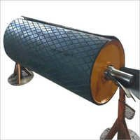 Diamond Rubber Covered Pulley