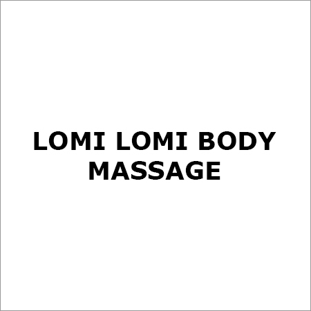 Lomi Lomi Body Massage