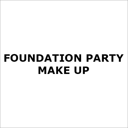Foundation Party make Up