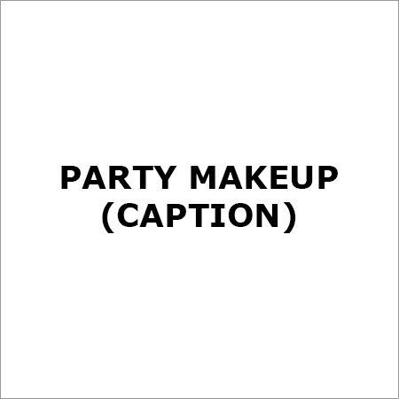 Party makeUp (Caption)