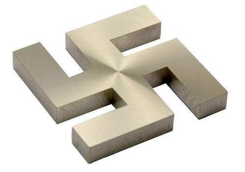 Brass Swastik Type Mirror Cap