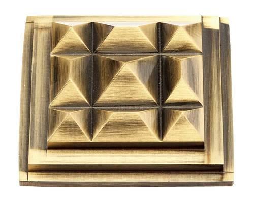 Brass Pyramid Fancy Type Mirror Cap