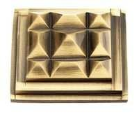 Brass Pyramid Fancy Type Mirror Cap
