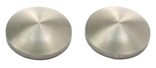 Brass Mirror Cap Dome Type