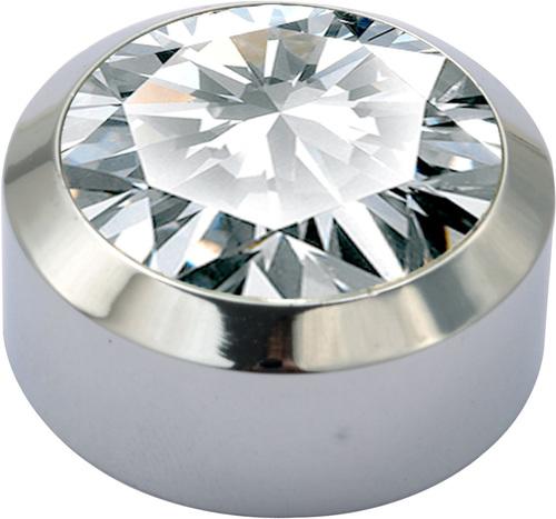 Brass Crystal Type Mirror Cap