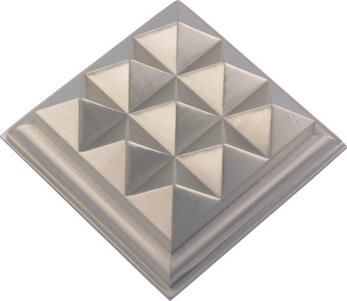 Brass Mirror Cap 9 Pyramid type