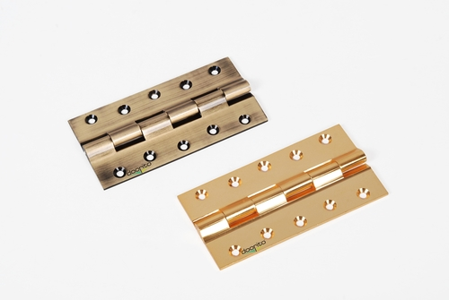 Brass Railway Hinges With Finishing