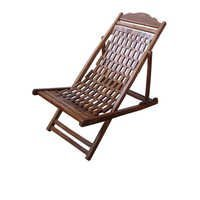 Desi Karigar Wooden Foldable Garden Chair