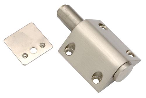 Brass Triangle Push Magnet