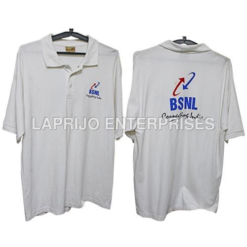 Printed Collar T-Shirt