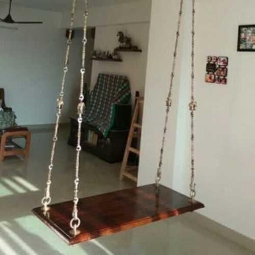 Wooden Plank Swing