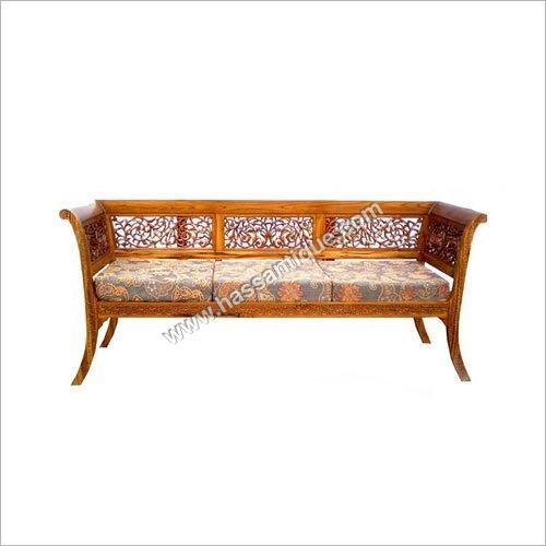 Antique Wooden Hand Carved Sofa Set