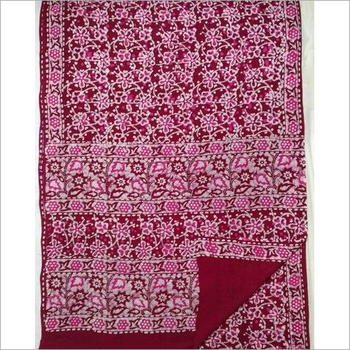 Batik Print Cotton Sarees with Blouse