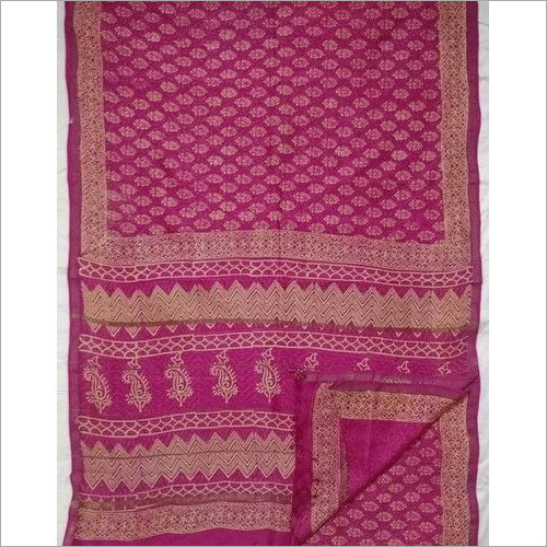 Chanderi Sarees with Blouse