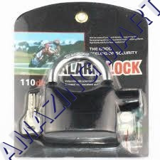 Alarm Lock Black