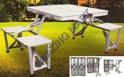 Umbrella Picnic Table