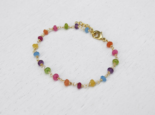 Gemstone Beds Bracelet