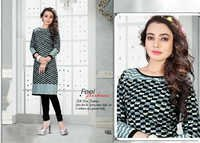 Unstitched Printed Cotton Kurti