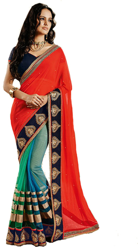 Embroidery Stylish Saree