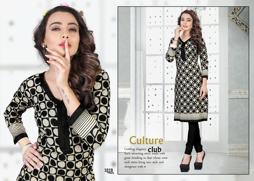 Cotton Collection Kurti Materials