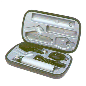 Streak Retinoscope And Ophthalmoscope Set
