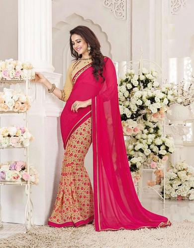 Multi Design Fancy Saree