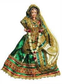 Rajasthani Bride Puppet