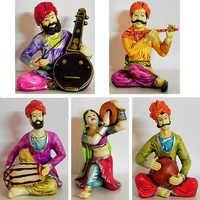 Rajasthani Dancer and Musicians Set