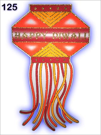 Thermocol Diwali Kandil