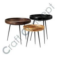SET OF 3 SIDE TABLE