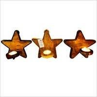Christmas Votive Wall Stars