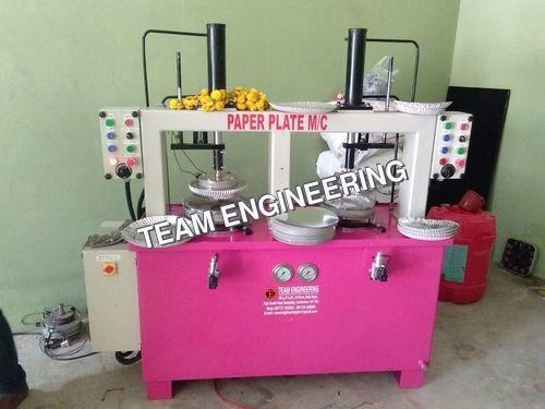 Custom Paper Plate Making Machine