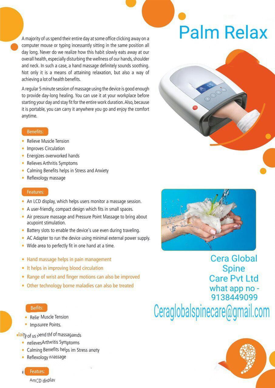 Palm Relax Hand Massager