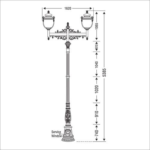 Ornamental Light Poles