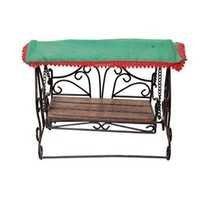 Desi Karigar Wooden & Iron Antique Jhoola Size (LxBxH-10x6x9) Inch