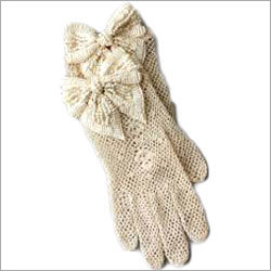 Fancy Knitted Gloves