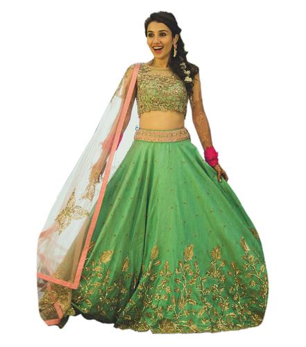 Heavy Bangalory Silk Designer Lehenga