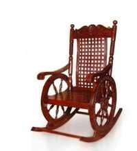 Desi Karigar Grandpa Rocking Chair (Brown, 43 X 24 X 37 Inch)