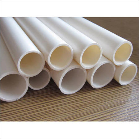 White PVC Electrical Conduit Pipe