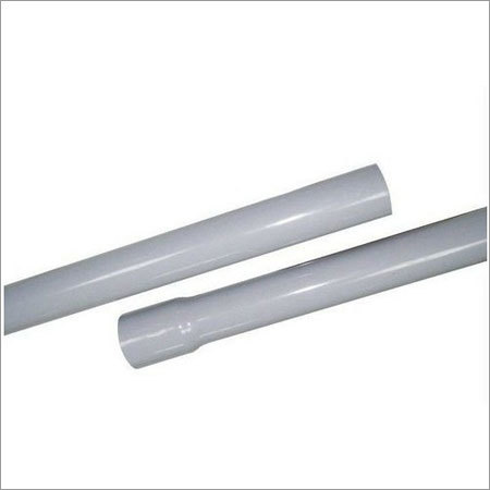 Grey PVC Electrical Conduit Pipe