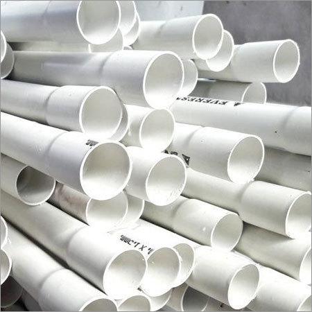 White PVC Conduit Pipes