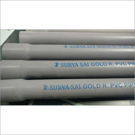 Grey Recycle Pvc Electrical Conduit Pipe
